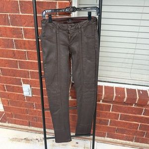 Citizens of Humanity Brown Coated Jeans Size 27